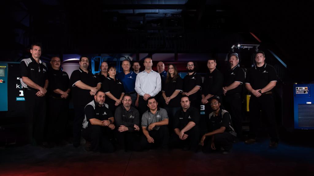 Compressed Air Equipment Team Photo